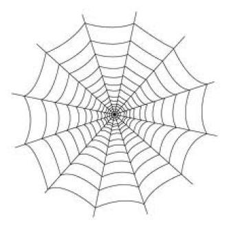 La toile d 39 araign e eco 99 international - Maquillage toile d araignee ...